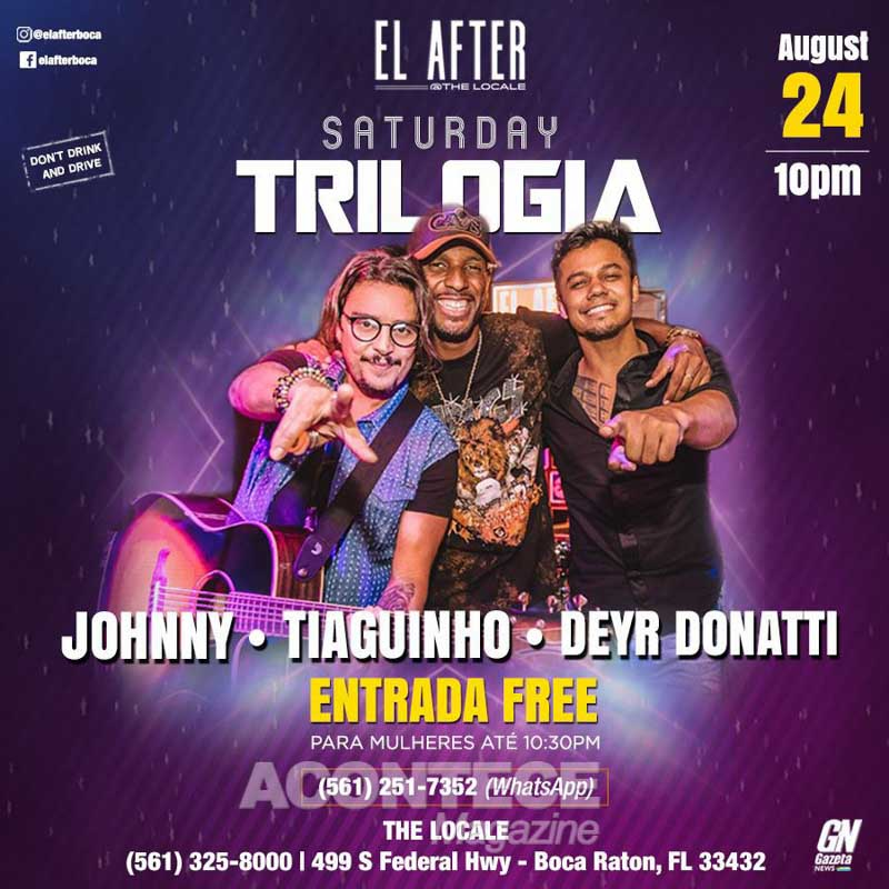 Deyer Donati, Johnny e Thiaguinho fazem show no El After